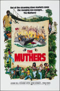 "Movie Posters:Action, The Muthers (Dimension, 1976). Folded, Very Fine+. One Sheet (27"" X 41""). Action.. ..."