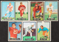 Football Cards:Lots, 1951 Topps Magic Football Collection (50)....