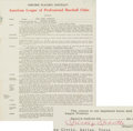 Baseball Collectibles:Others, 1964 Mickey Mantle Signed New York Yankees Player's Contract....