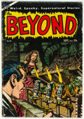 Golden Age (1938-1955):Horror, The Beyond #28 (Ace, 1954) Condition: VG-....