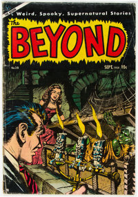 The Beyond #28 (Ace, 1954) Condition: VG-