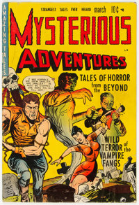 Mysterious Adventures #1 (Story Comics, 1951) Condition: GD/VG