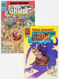 Modern Age (1980-Present):Humor, Groo the Wanderer #1 and 2 Group of 43 (Pacific Comics, 1982-83) Condition: Average NM-.... (Total: 43 )