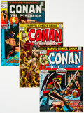 Bronze Age (1970-1979):Adventure, Conan the Barbarian #5-25 and 37 Group (Marvel, 1971-75) Condition: Average VF.... (Total: 27 Comic Books)
