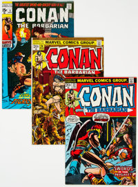Conan the Barbarian #5-25 and 37 Group (Marvel, 1971-75) Condition: Average VF.... (Total: 27 Comic Books)