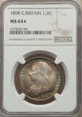 Great Britain: Victoria 1/2 Crown 1898 MS64★ NGC