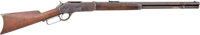Historic Tombstone Winchester Second Model 1876 Lever Action Rifle, Serial No. 8557