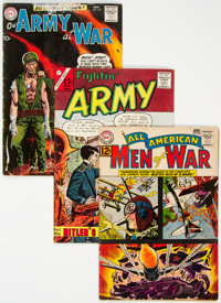 Silver Age War Comics Group of 26 (Various Publishers, 1960s) Condition: Average VG-.... (Total: 26)