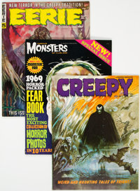 Horror Magazines Group of 29 (Various Publishers, 1960s-70s) Condition: Average FN+.... (Total: 29 Comic Books)
