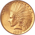 Indian Eagles, 1933 $10 MS65 NGC....