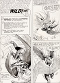 Original Comic Art:Panel Pages, Murphy Anderson Hawkman #6 Chapter 3 Story Pages 15-24 and 1-Page Feature Original Art Group of 11 (DC, 1965).... (Total: 11 Original Art)