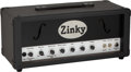 Musical Instruments:Amplifiers, PA, & Effects, Circa 2000's Zinky MoFo Black Amplifier Head, Serial #054.. ...