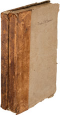 Miscellaneous:Ephemera, The American Mercury: Two Bound Volumes of Federal Era Newspapers.... (Total: 2 Items)