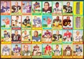 Football Cards:Lots, 1963 Topps Football Collection (32)....