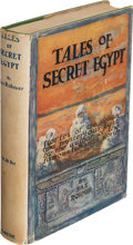 Books:Mystery & Detective Fiction, Sax Rohmer. Tales of Secret Egypt. New York: 1919. First U. S. edition....