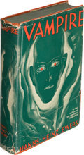 Books:Science Fiction & Fantasy, Hanns Heinz Ewers. Vampire. New York: [1934]. First U. S. edition....