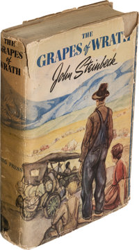 John Steinbeck. The Grapes of Wrath. New York: [1939]. First edition