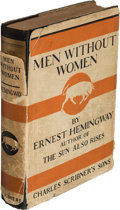 Books:Literature 1900-up, Ernest Hemingway. Men Without Women. New York: Charles Scribner's Sons, 1927. First edition, first printing, with a ...