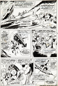 Gene Colan and Johnny Craig Iron Man #1 Story Page 6 Original Art (Marvel Comics, 1968)