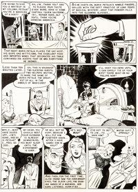 Harry Harrison and Wally Wood Haunt of Fear #15 (#1) Story Page 4 Original Art (EC, 1950)