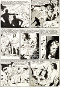 Original Comic Art:Panel Pages, Wally Wood Incredible Science Fiction #33 Story Page 5 Original Art (EC, 1956)....