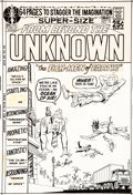 Original Comic Art:Covers, Murphy Anderson From Beyond the Unknown #10 Cover Original Art (DC, 1971)....