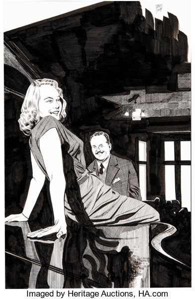 Original Comic Art:Illustrations, Dave Sim glamourpuss #18 ...