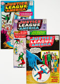 Silver Age (1956-1969):Superhero, Justice League of America Group of 8 (DC, 1962-65) Condition: Average FN/VF.... (Total: 8 )