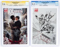 Modern Age (1980-Present):Superhero, The Astonishing X-Men #50 and 51 CGC-Graded Group (Marvel, 2012).... (Total: 2 Comic Books)