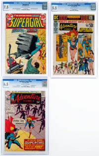 Supergirl-Related CGC-Graded Group of 3 (DC, 1969-72).... (Total: 3 Comic Books)