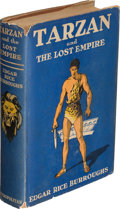 Books:Science Fiction & Fantasy, Edgar Rice Burroughs. Tarzan and the Lost Empire. New York: [1929]. First edition. Presentation copy, inscribed ...