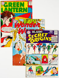 DC Silver Age Superhero Group of 10 (DC, 1959-65) Condition: Average FN.... (Total: 10 )