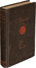 Books:Science Fiction & Fantasy, Edgar Rice Burroughs. A Princess of Mars. Chicago: 1917. First edition. Presentation copy, inscribed by Burrough...