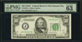 Fr. 2105-J $50 1934C Federal Reserve Note. PMG Choice Uncirculated 63 EPQ