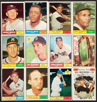 1961 Topps Baseball Partial Set (555/587)