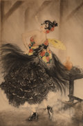 Prints & Multiples, Louis Justin Laurent Icart (French/American, 1888-1950). Carmen, 1927. Etching in colors on paper. 2...
