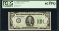 Fr. 2153-H $100 1934A Mule Federal Reserve Note. PCGS New 62PPQ