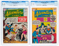 Silver Age (1956-1969):Superhero, Adventure Comics #257 and 275 CGC-Graded Group (DC, 1959-60) CGC.... (Total: 2 )