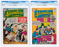 Adventure Comics #257 and 275 CGC-Graded Group (DC, 1959-60) CGC.... (Total: 2 )