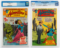 Adventure Comics #386 and 389 CGC-Graded Group (DC, 1969-70).... (Total: 2 Items)