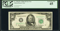 Fr. 2109-B* $50 1950B Federal Reserve Star Note. PCGS Extremely Fine 45