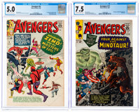 The Avengers #6 and 17 CGC-Graded Group (Marvel, 1964-65).... (Total: 2 Items)