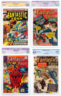 Silver Age (1956-1969):Superhero, Fantastic Four Certified Group of 4 (Marvel, 1963-73).... (Total: 4 Items)