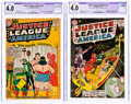 Silver Age (1956-1969):Superhero, Justice League of America #3 and 7 CGC-Graded Group (DC, 1961) CGC Apparent VG 4.0 Slight (C-1).... (Total: 2 Items)