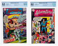 Adventure Comics #352 and 372 CBCS-Graded Group (DC, 1967-68).... (Total: 2 Comic Books)