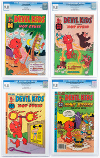 Devil Kids Starring Hot Stuff CGC-Graded File Copies Group of 4 (Harvey, 1975-79) CGC NM/MT 9.8.... (Total: 4 Comic Book...