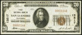 San Leandro, CA - $20 1929 Ty. 1 The First National Bank Ch. # 13217 Very Fine+