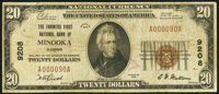 Minooka, IL - $20 1929 Ty. 1 The Farmers' First National Bank Ch. # 9208 Very Good-Fine