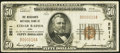 National Bank Notes:Iowa, Cedar Rapids, IA - $50 1929 Ty. 1 The Merchants National Bank Ch. # 2511 Fine-Very Fine.. ...