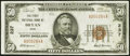 National Bank Notes:Ohio, Bryan, OH - $50 1929 Ty. 1 The First National Bank Ch. # 237 Very Fine-Extremely Fine.. ...